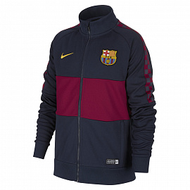 Детская олимпийка Nike FC Barcelona Football Jacket - Dark Blue