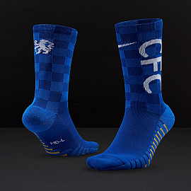 Nike Chelsea FC Crew Socks - GFX Rush Blue/Game Royal/White