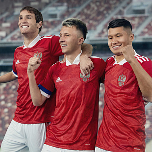 Футболка Adidas Russia Home Jersey - Red