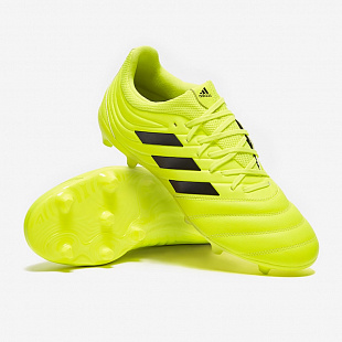 Бутсы Adidas Copa 19.3 FG - Solar Yellow/Core Black