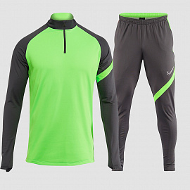 Тренировочный костюм Nike Dry Academy 20 Drill - ANTHRACITE/GREEN
