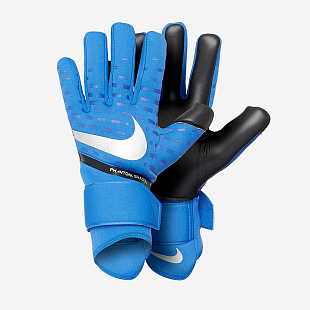 Вратарские перчатки Nike Goalkeeper Phantom Shadow Football Gloves - Blue/Black