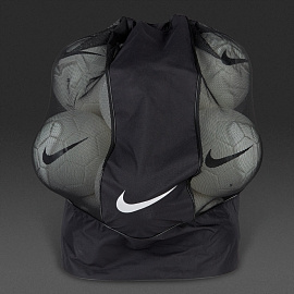 Сумка  Nike Club Team Ball Carry Bag - Black/Black/White