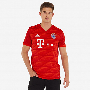 Футболка adidas FC Bayern Munich 2019/20 Home Shirt - FCB True Red