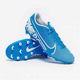 Бутсы Nike Mercurial Vapor XIII Club FG/MG - Blue Hero/White/Obsidian