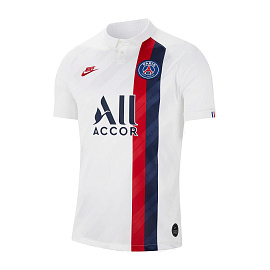 Футболка Nike Paris Saint-Germain 2019/20 Stadium - White/Blue