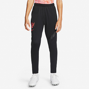 Детские брюки Nike Dri-FIT Neymar Football Pants - Black/Bright Crimson