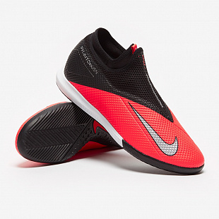 Обувь для зала Nike Phantom VSN 2 Academy DF IC - Laser Crimson/Black