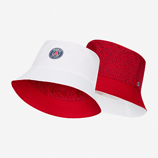Панама Nike Paris Saint-Germain Reversible Bucket Hat - White/University Red