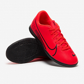 Детские футзалки Nike Mercurial Vapor 13 Club IC - Laser Crimson