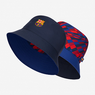Панама Nike F.C. Barcelona Reversible Bucket Hat - Azul Royal/Obidiana