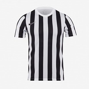 Игровая футболка Nike Striped Division IV JerseyS/S - White / Black