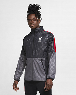 Ветровка Liverpool FC AWF Men's Soccer Jacket - Dark Grey