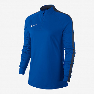Свитер  Nike Womens Dry Academy 18 Drill Top - Royal Blue/Obsidian/White