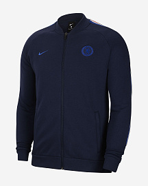 Куртка Nike Chelsea Fleece Jacket - Dark Blue